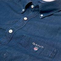 Bild 3 av Gant The Regular Indigo Shirt