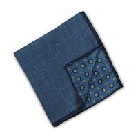 Patterned Silk Hankie, Reversible