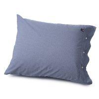 Poplin Check Pillowcase 50x60