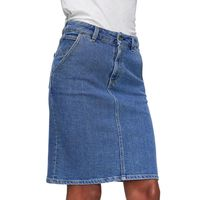 Alicia Washed Denim Skirt