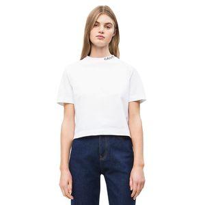 Cropped Skater T-shirt