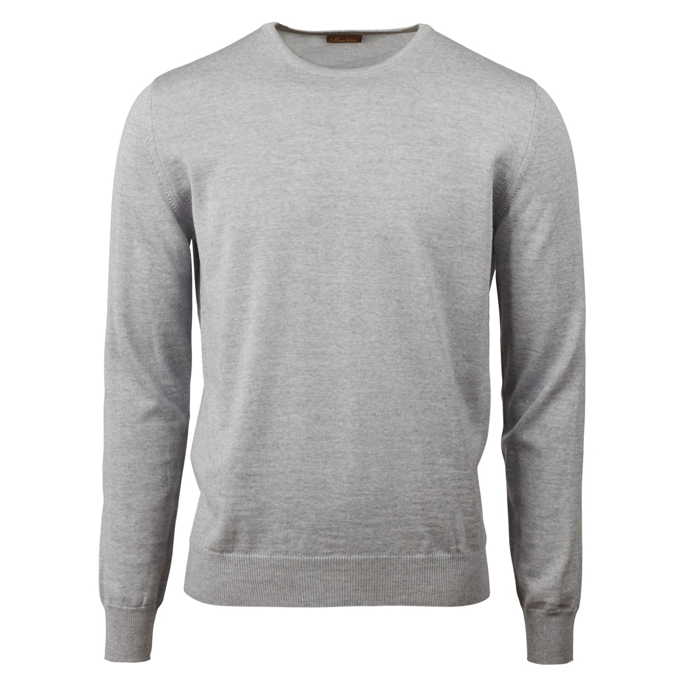 Bild 1 av Merino Crew Neck With Patches
