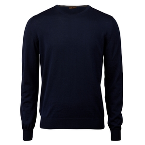 Merino Crew Neck With Patches