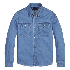 Pure Cotton Denim Shirt