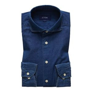 Slim Fit Casual Denim Shirt