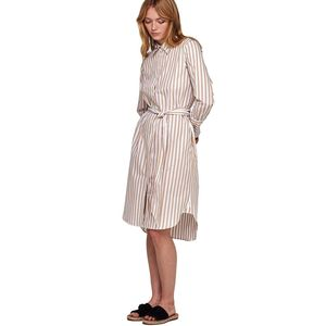 Chiara Striped Shirt Dress