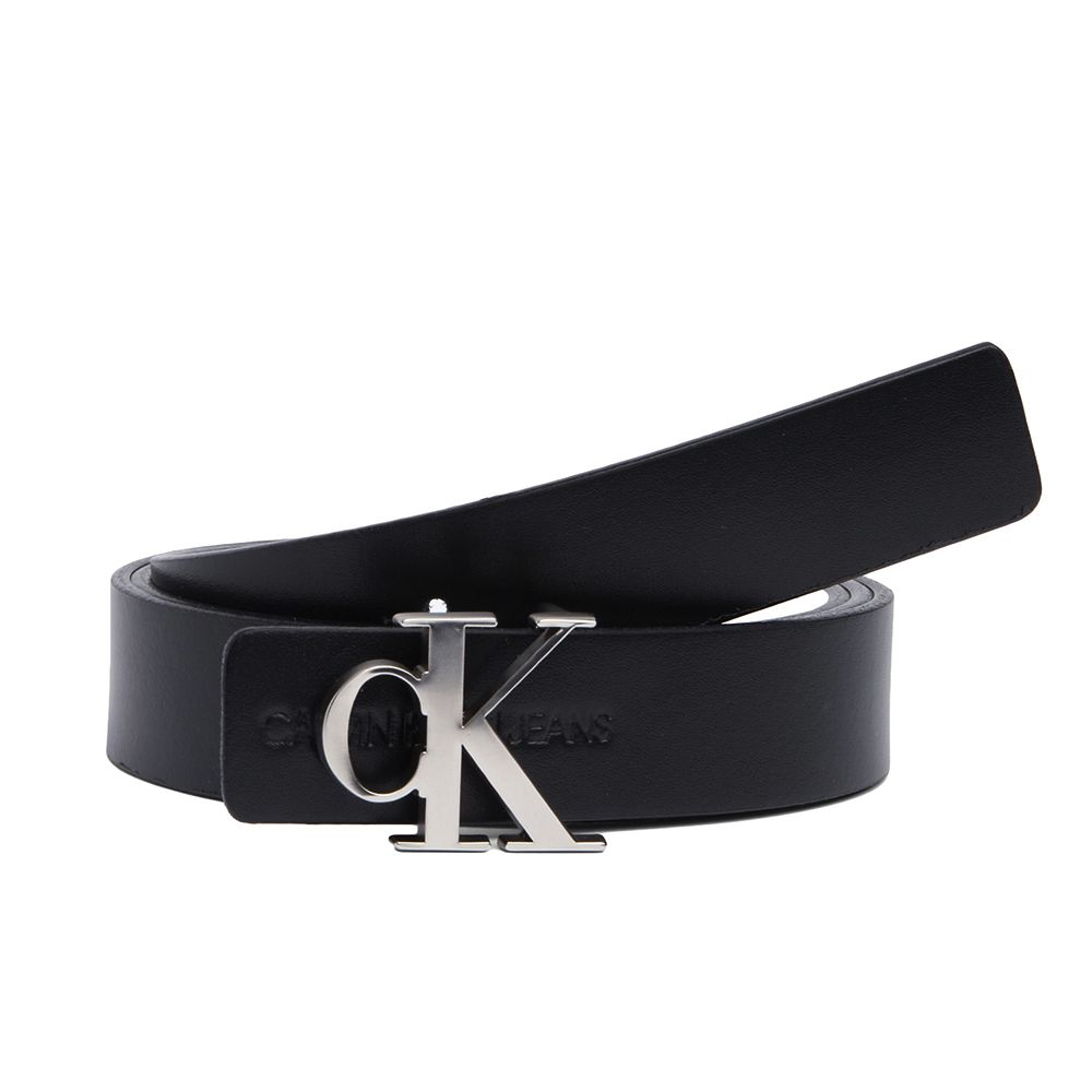 Bild 1 av Skinny Reversible Leather Belt