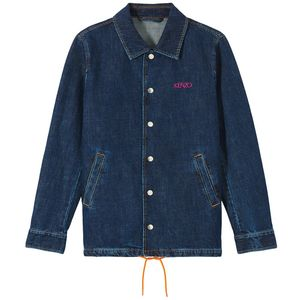 'Square Logo' Denim Jacket