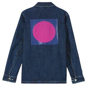 Bild 3 av 'Square Logo' Denim Jacket