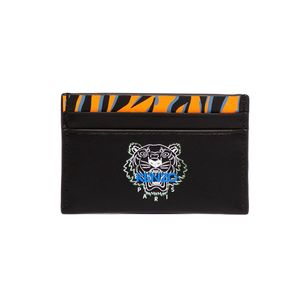 'Tiny Tiger' Leather Card Holder