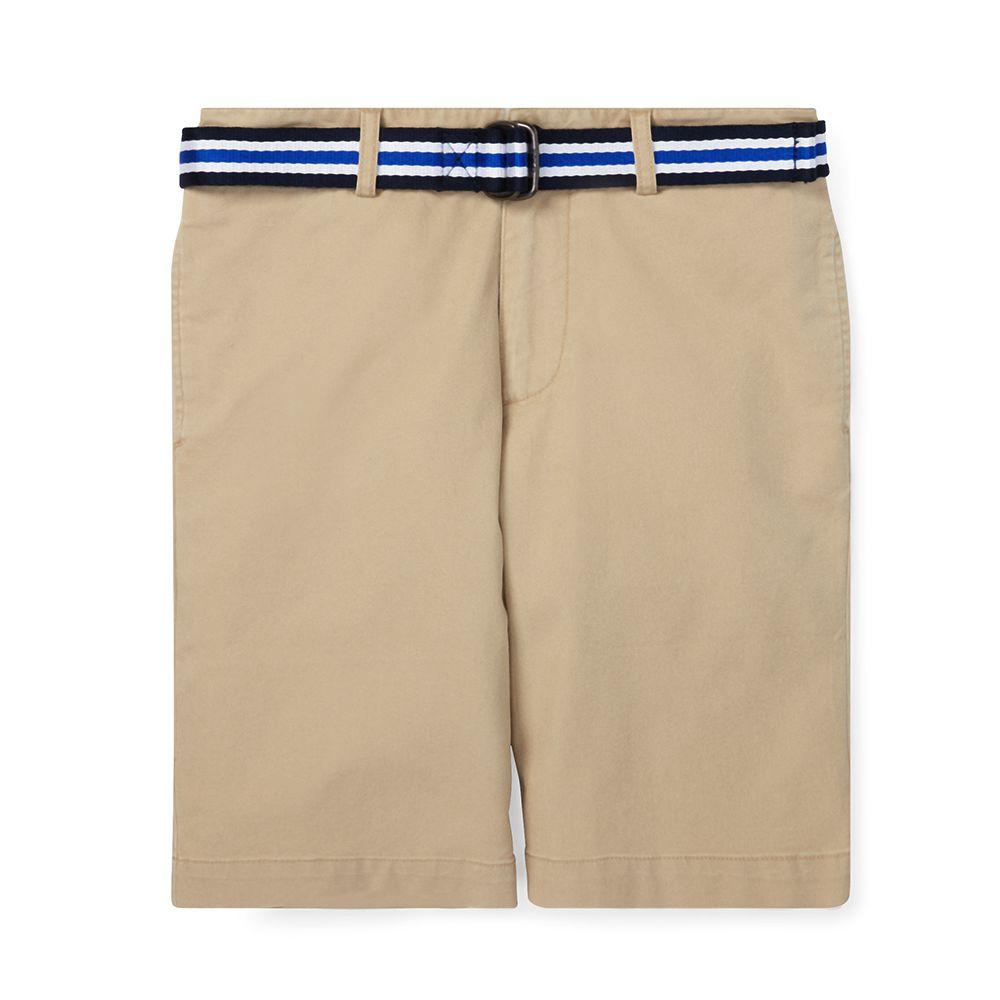 Bild 1 av Slim Fit Belted stretch Shorts