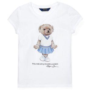 Cricket Bear Cotton T-shirt