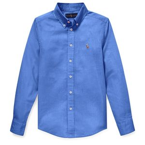 Slub Linen-Cotton Shirt