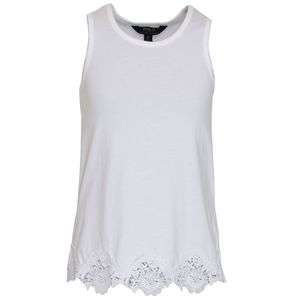 Lace Tank Tops Knit