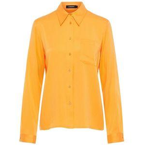 Mallory Washed Silk Shirt