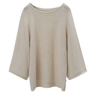 Kayla Cotton Linen Sweater