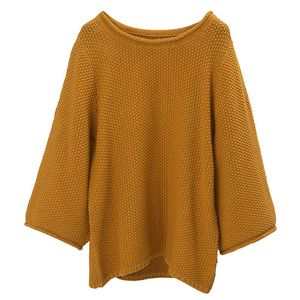 Kayla Cotton Linen Sweater