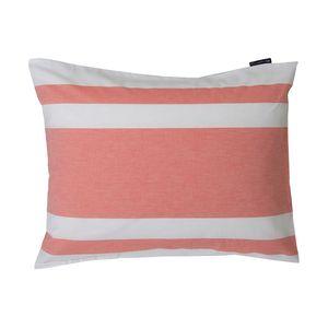 Horizontal Striped Poplin Pillowcase