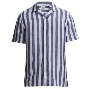 Miyagi Linen-Viscose Shirt