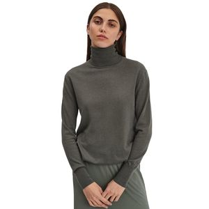 Silk Mix Roller Neck Sweater