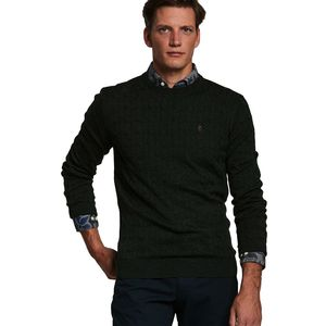 Merino Cable O-neck