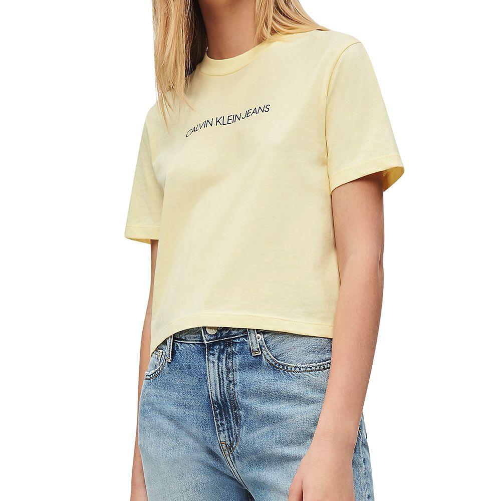 Bild 1 av Organic Cotton Cropped T-shirt
