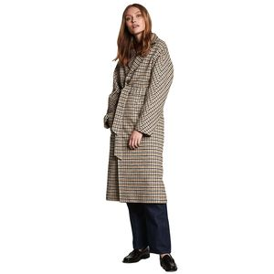 Maebel Checked Coat