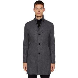 Holger Compact Melton Wool Coat