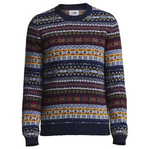 Fair Isle Crew Sweater
