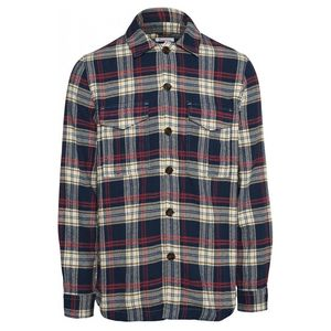 Big Checked Flannel Shirt