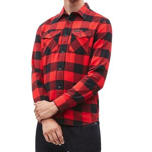 Flannel Western Check Shirt