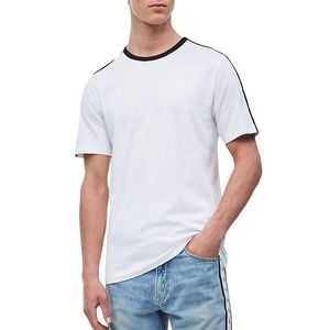 T-shirt With Logo Tape