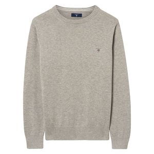 LT WT Cotton Crew Neck