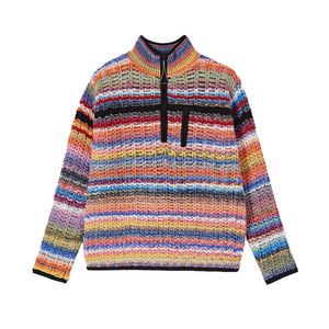 Multi Coloured Stripes Jumper