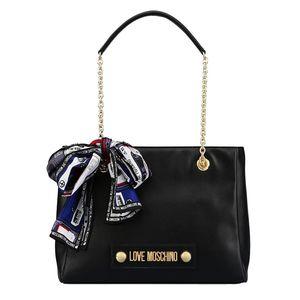 Shoulder Bag With Foulard