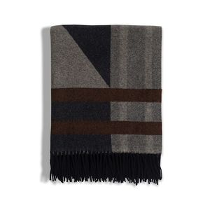Argyle Wool Throw