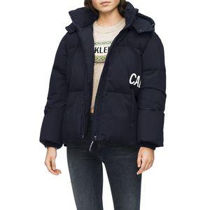 Oversized Logo Puffer Jacket