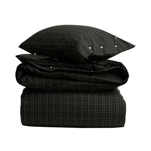 Holiday Checked Poplin Bedding Set