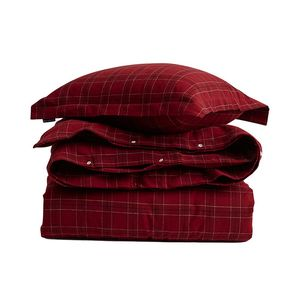 Holiday Checked Flannel Bedding Set