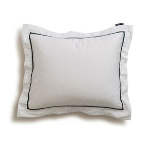 Holiday Star Framed Sateen Pillowcase