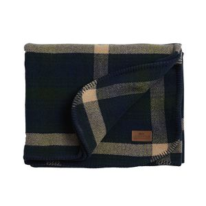 Holiday Checked Wool Blanket