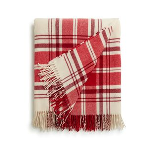 Holiday Classic Wool Throw