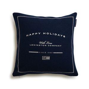 Happy Holiday Wool Sham