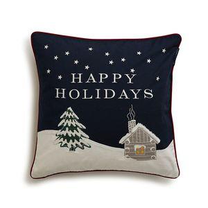 Holiday Snowy House Sham