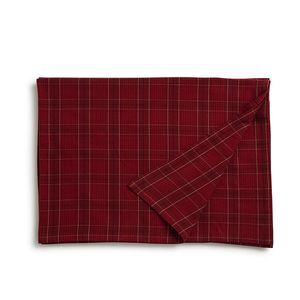 Holiday Checked Tablecloth