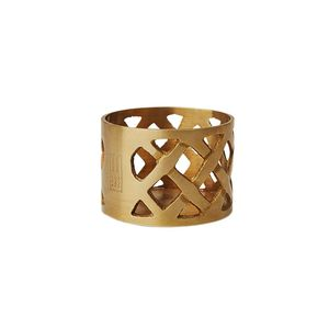 Holiday Brass Candle Holder