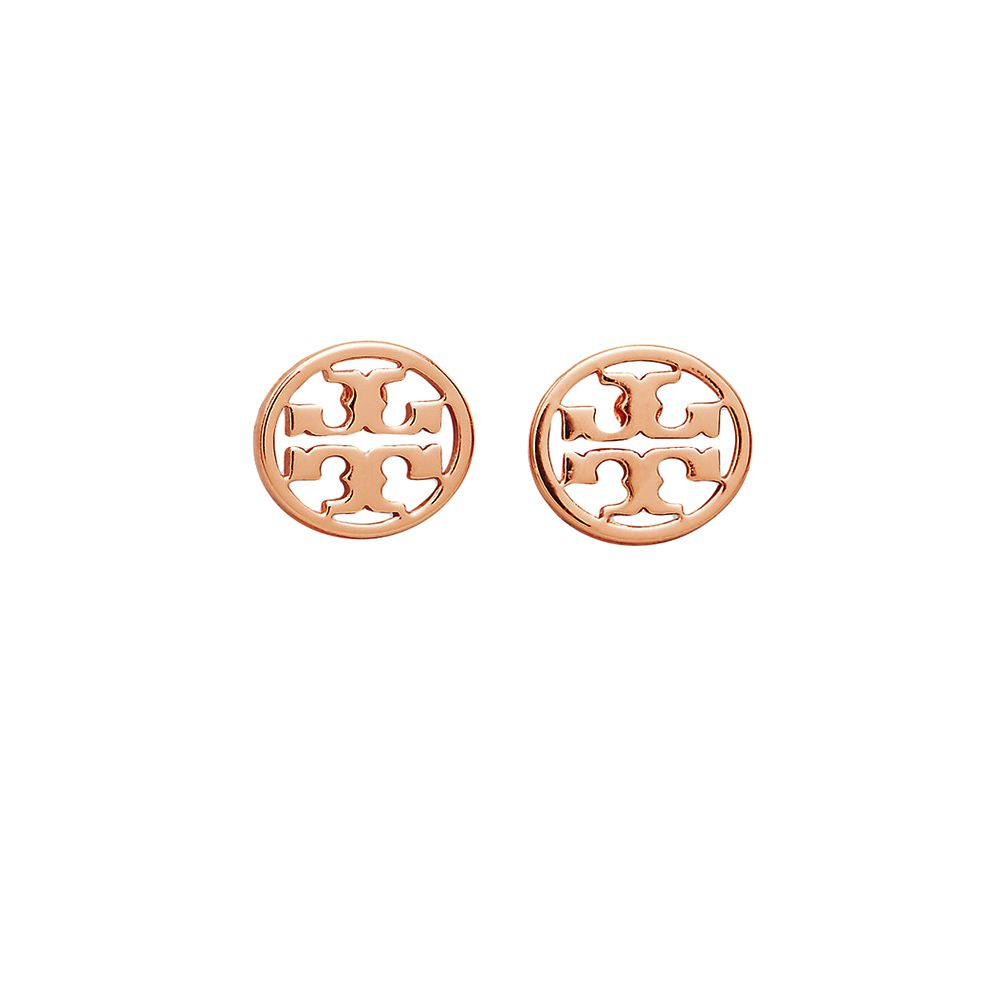 Bild 1 av Logo Circle Stud Earring
