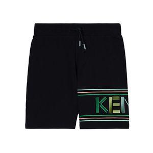 Kenzo Logo Flannel Shorts