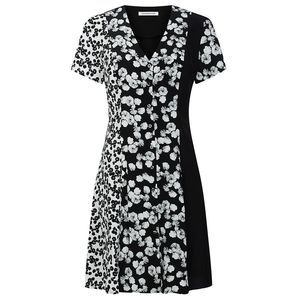 Floral Panelled Mini Dress