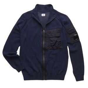 Pocket Zip Sweater